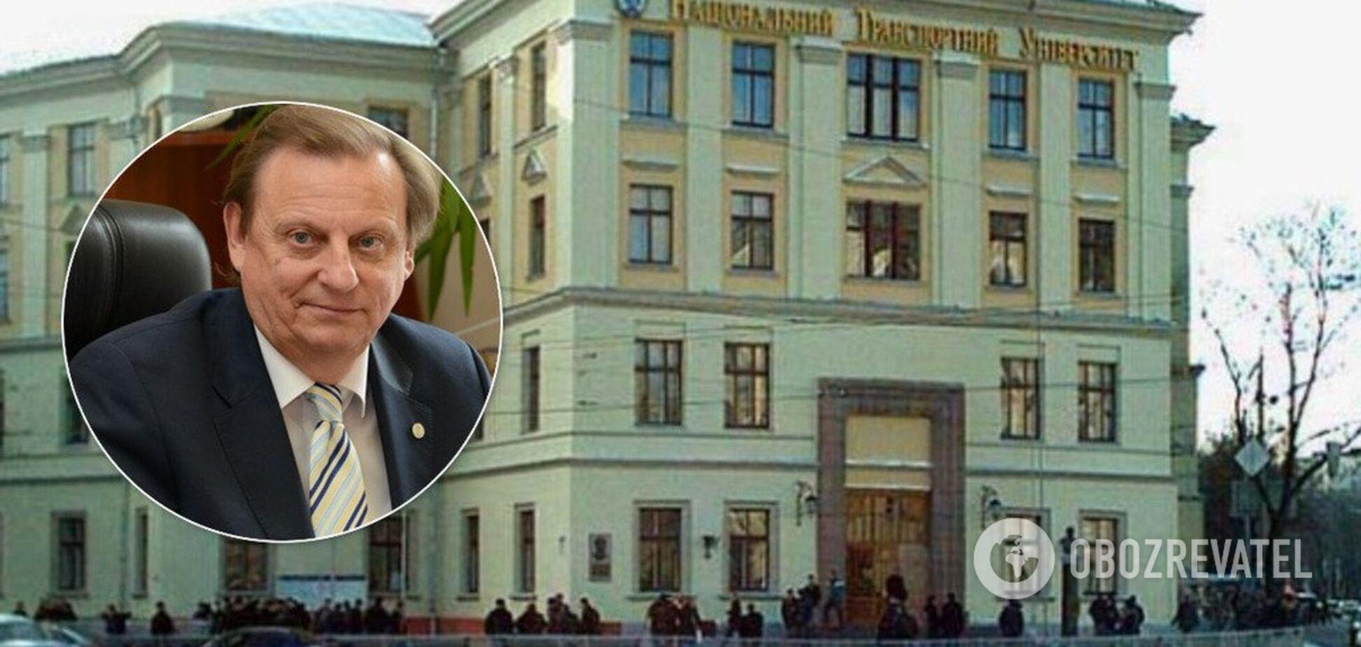 'Ти ох*їв, суч*ра?' Проректор київського вишу зірвався через звинувачення в корупції. Відео 18+