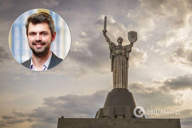 """Дробович пояснив, чому з """"Батьківщини-Матері"""" не зняли герб СРСР"""