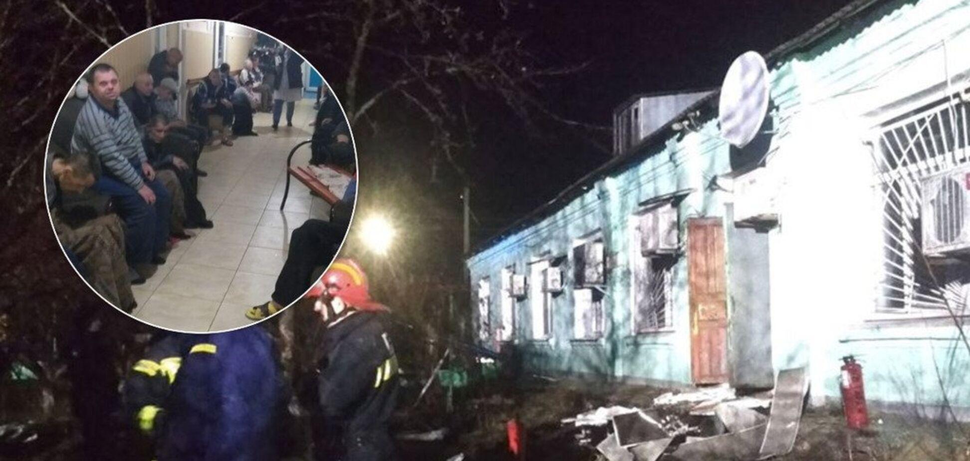 Хворі згоріли живцем: розкрито страшні деталі пожежі у психінтернаті на Луганщині
