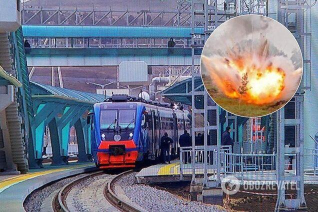 Володимир Путін відкрив залізничний рух Кримським мостом