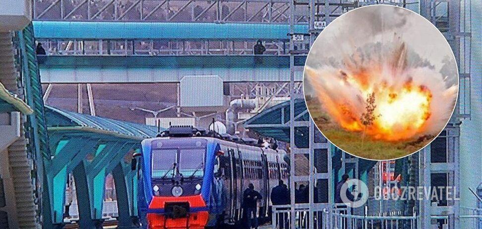 Путін запустив потяг по Кримському мосту: офіцер назвав загрозу для України