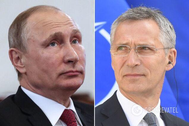 Путин и Столтенберг