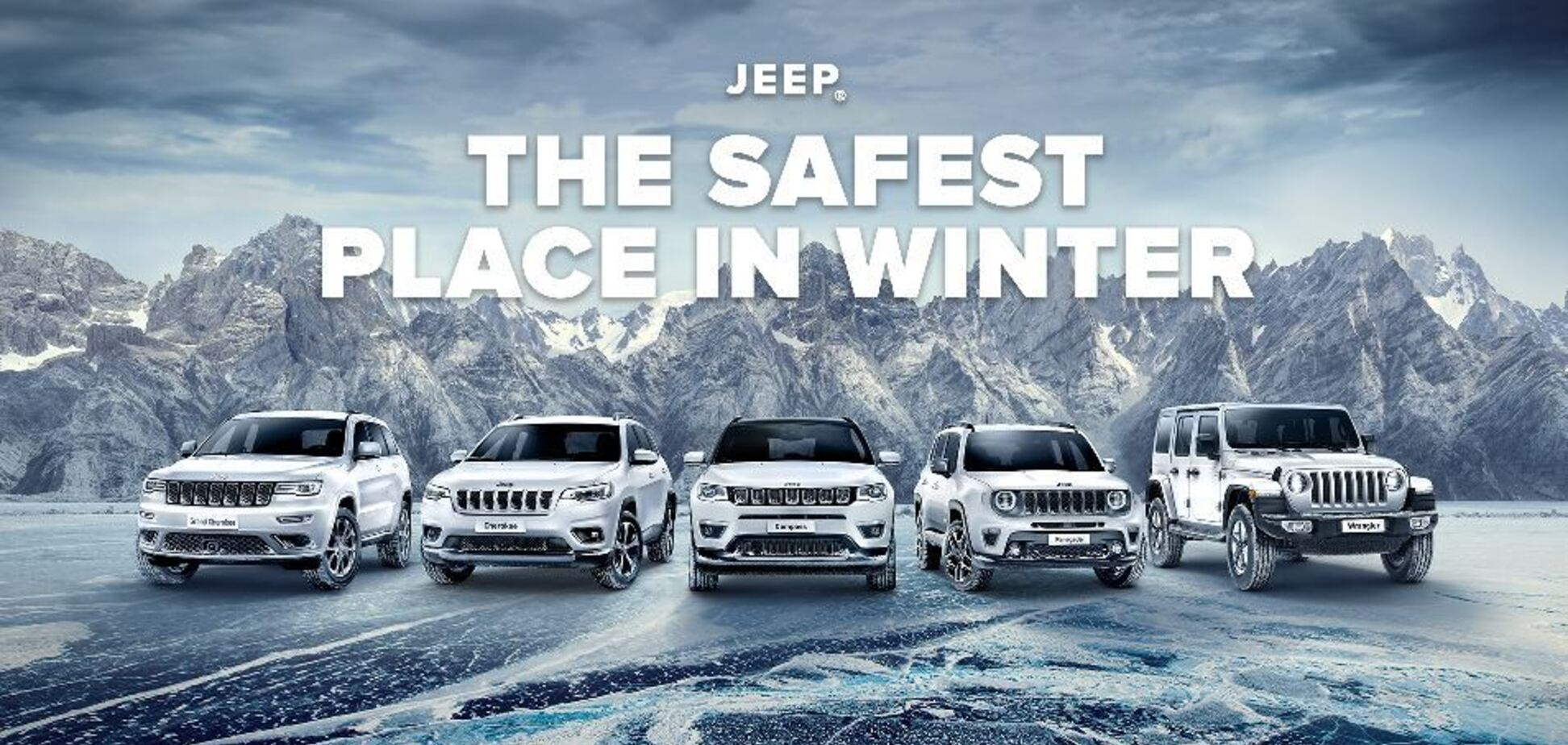 На автомобили Jeep Renegade, Compass и Grand Cherokee снижены цены!
