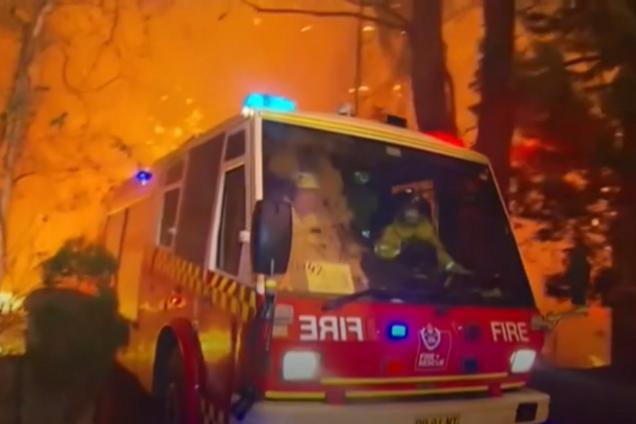 Лісові пожежі в Австралії