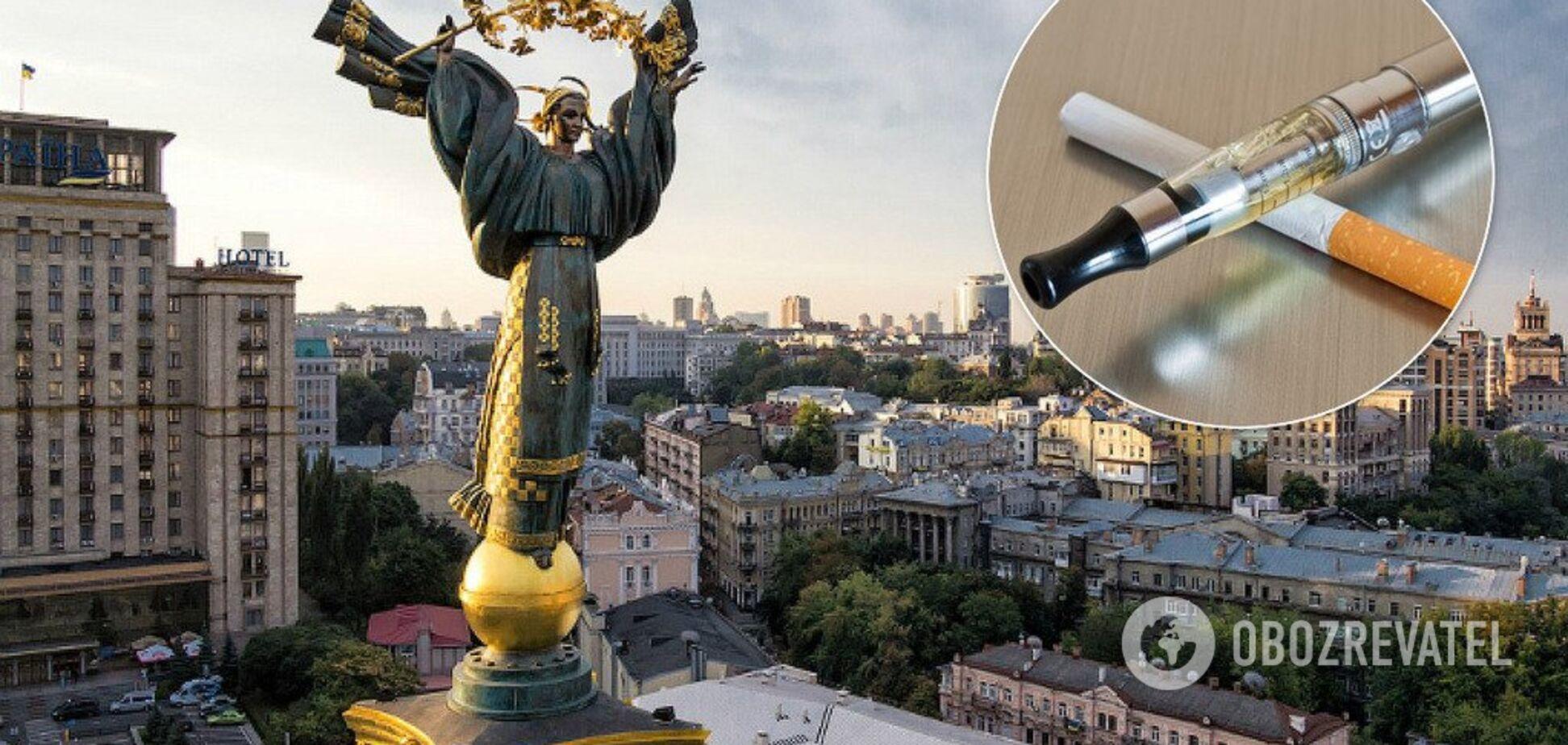 В Україні електронні сигарети прирівняють до звичайних: що зміниться