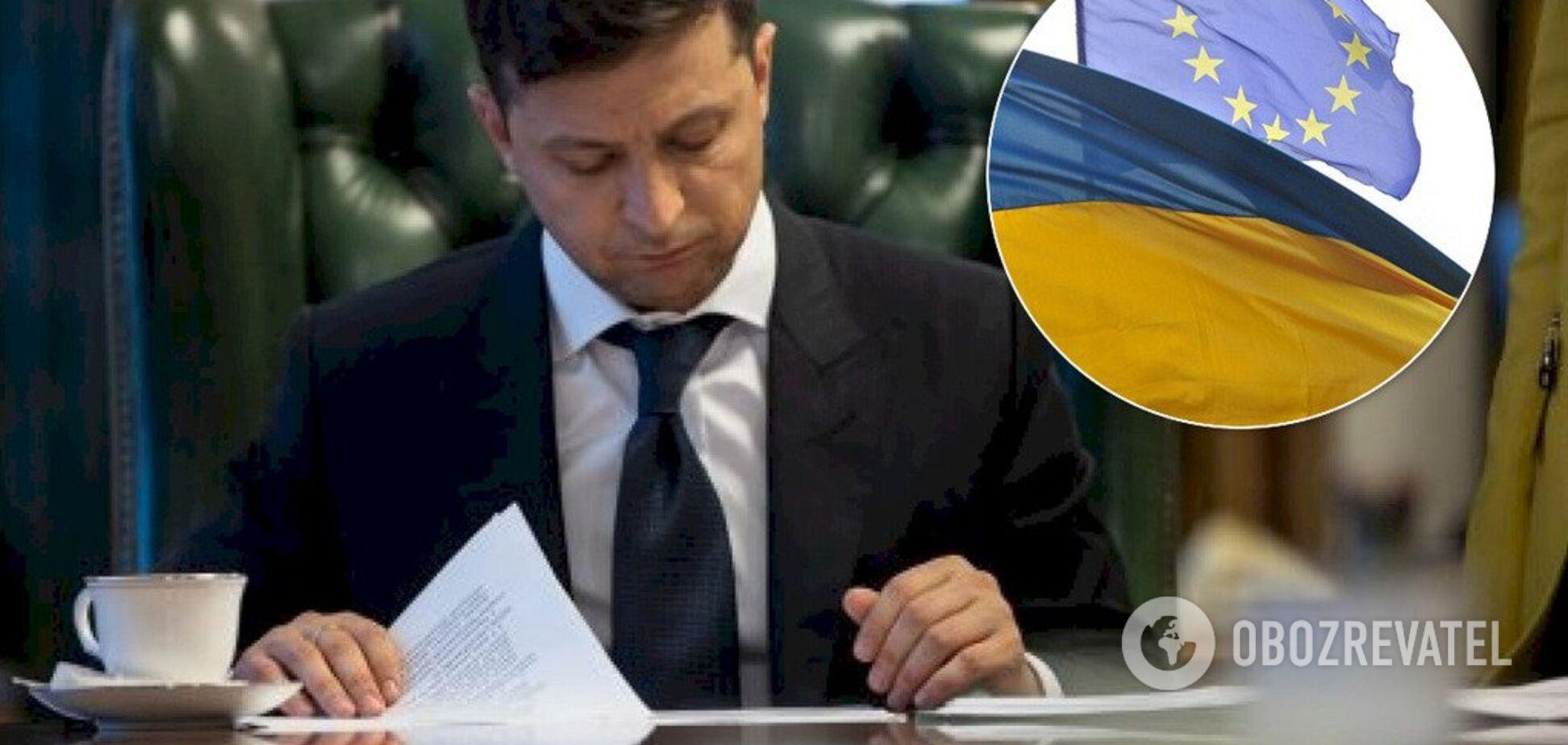 Зеленский пошел навстречу бизнесу: подписан закон для промышленного безвиза с ЕС
