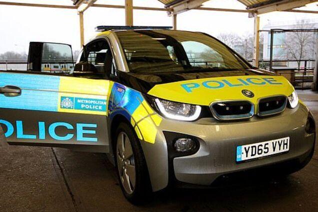Електромобілі поліції Англії