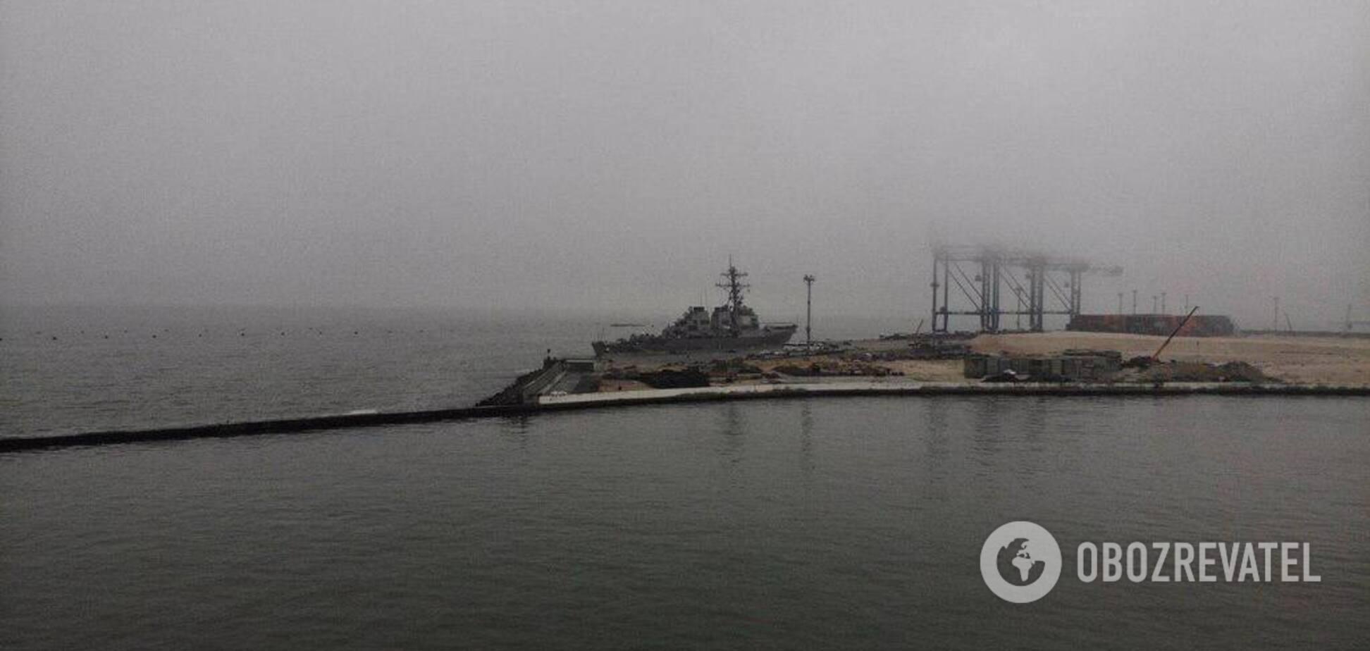 В Одесский порт зашел корабль НАТО