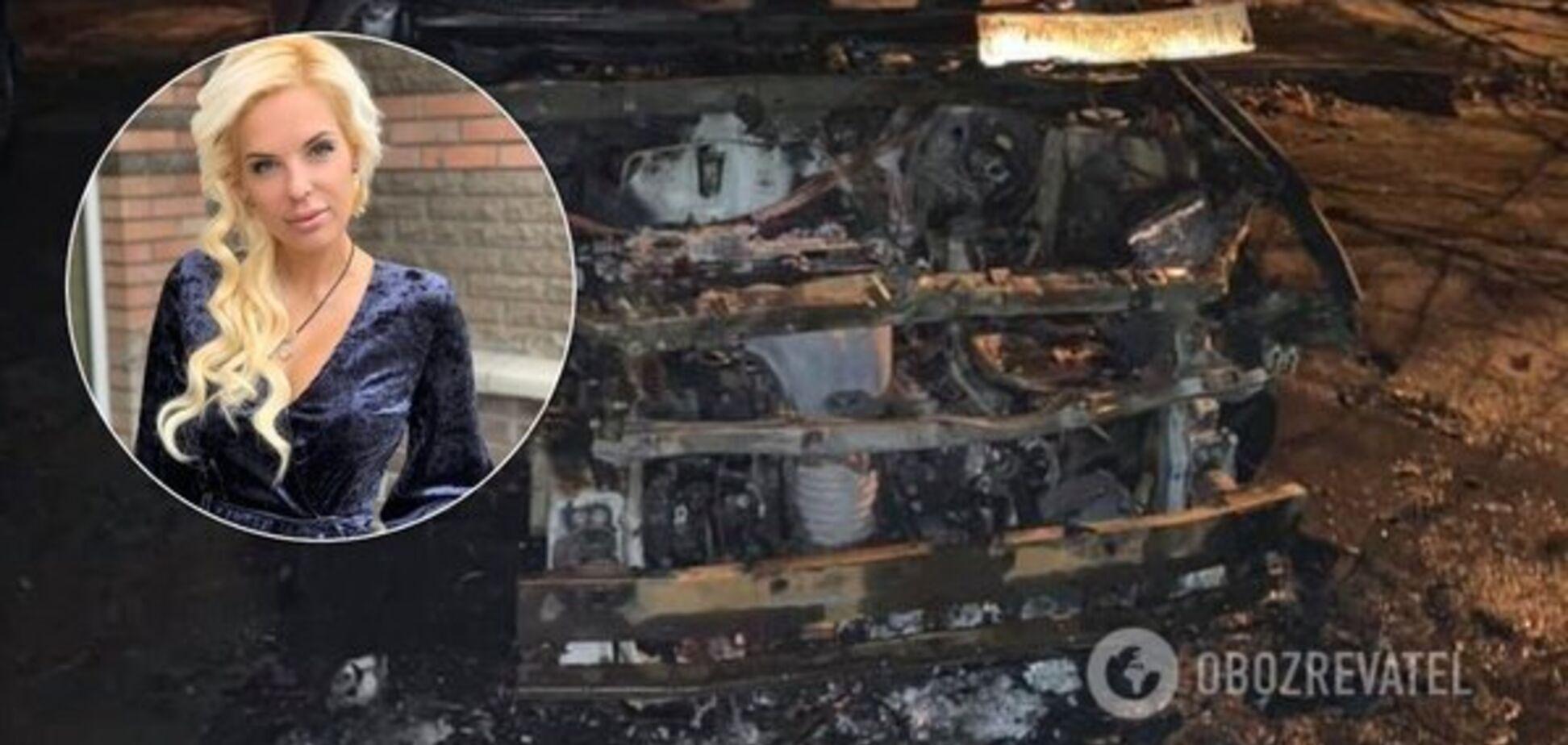 Соучредитель 'БАТЬКИ SOS' назвала вероятного заказчика поджога ее авто