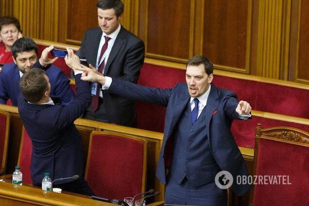 Прем'єр-міністр України Олексій Гончарук