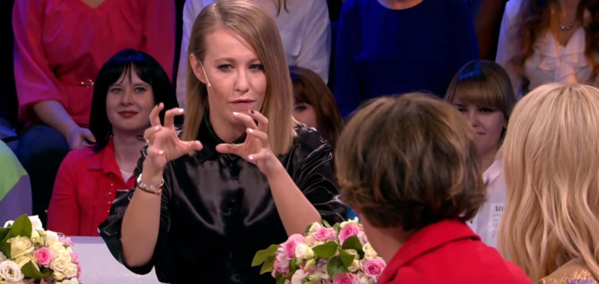'Занимается ж**окрутством': Собчак выругалась на росТВ из-за Галкина