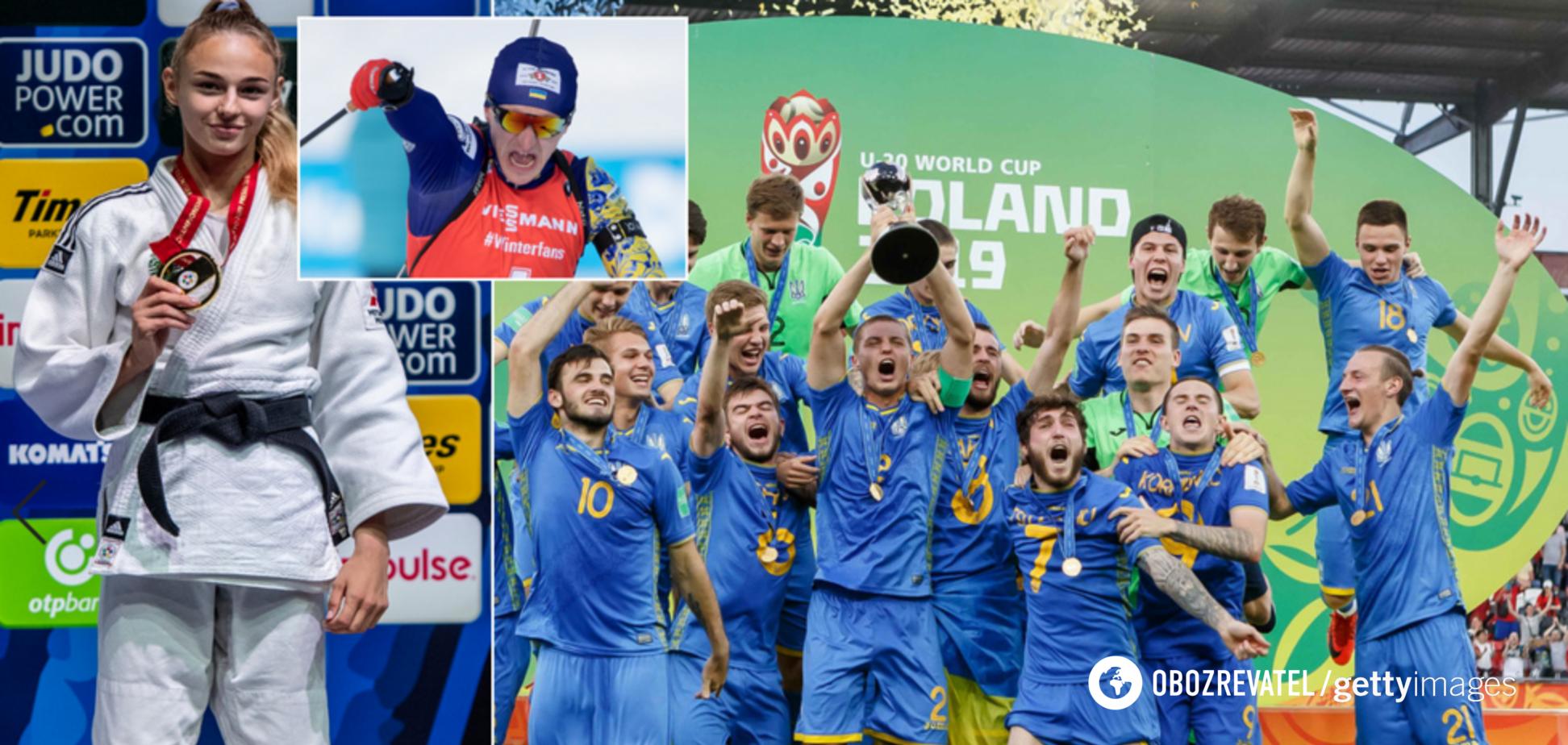 Когда Роналду и весь мир позади: 10 незабываемых моментов Украины в спорте 2019-го