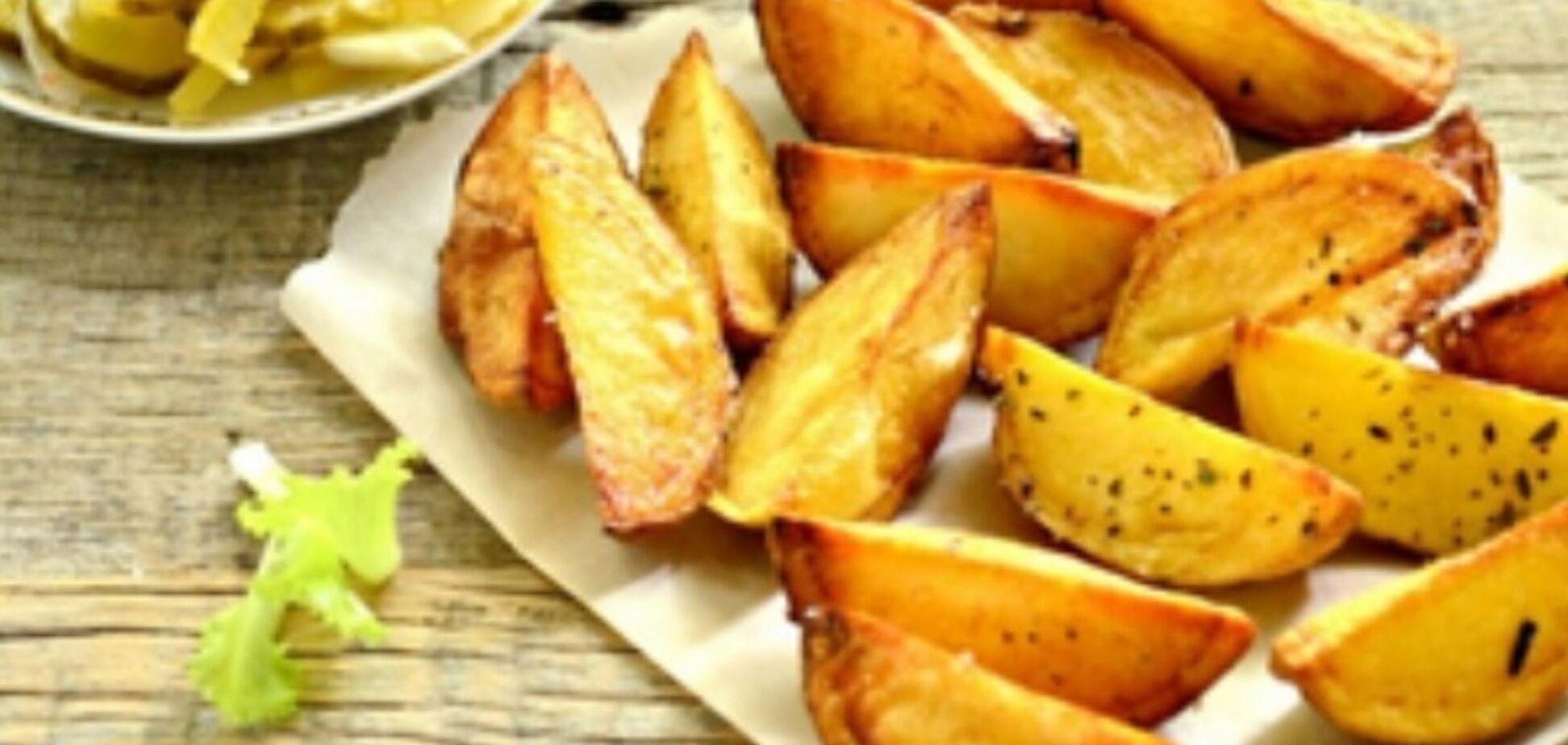 Рецепт казково смачної печеної картоплі
