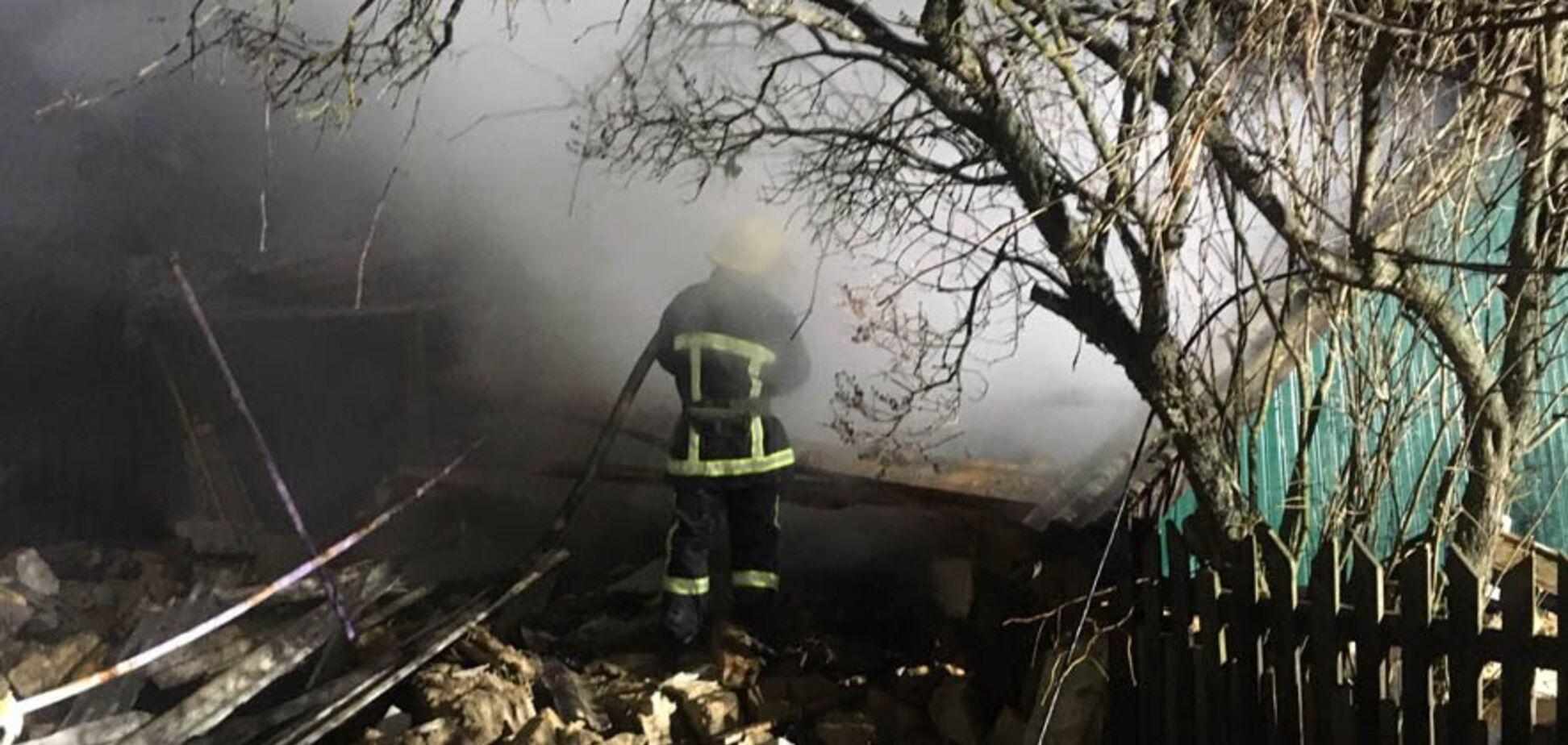 Під Полтавою потужний вибух знищив житловий будинок: подробиці НП