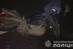 Под Одессой погиб мотоциклист
