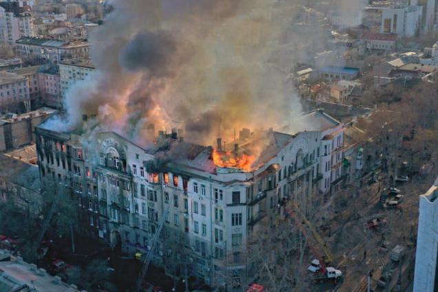 Улицу Троицкую в Одессе закрывают для движения