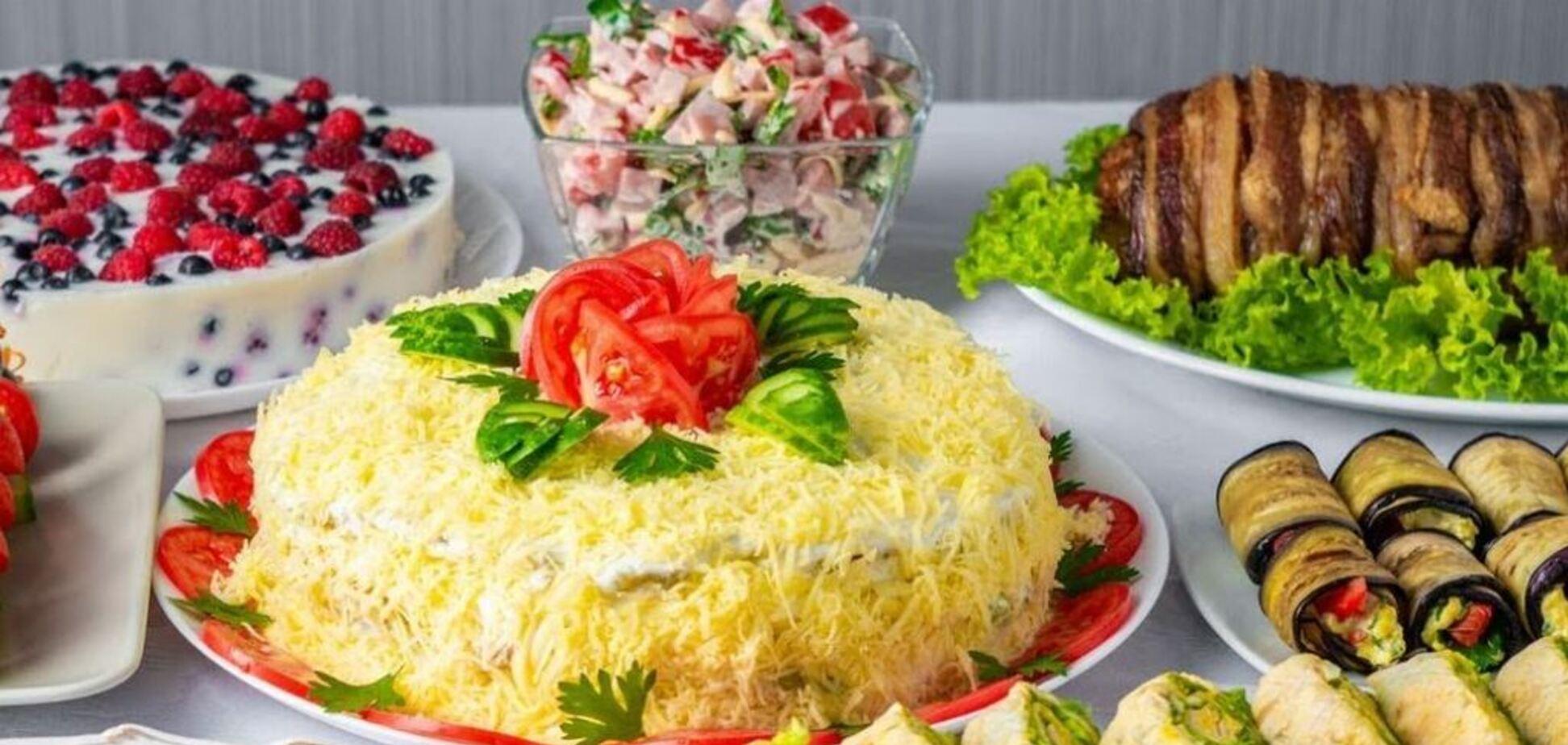 Новорічні салати на будь-який смак – рецепти з фото