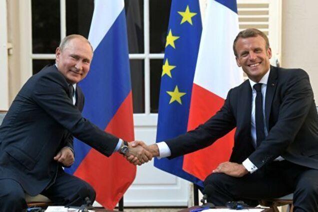 Путін і Макрон