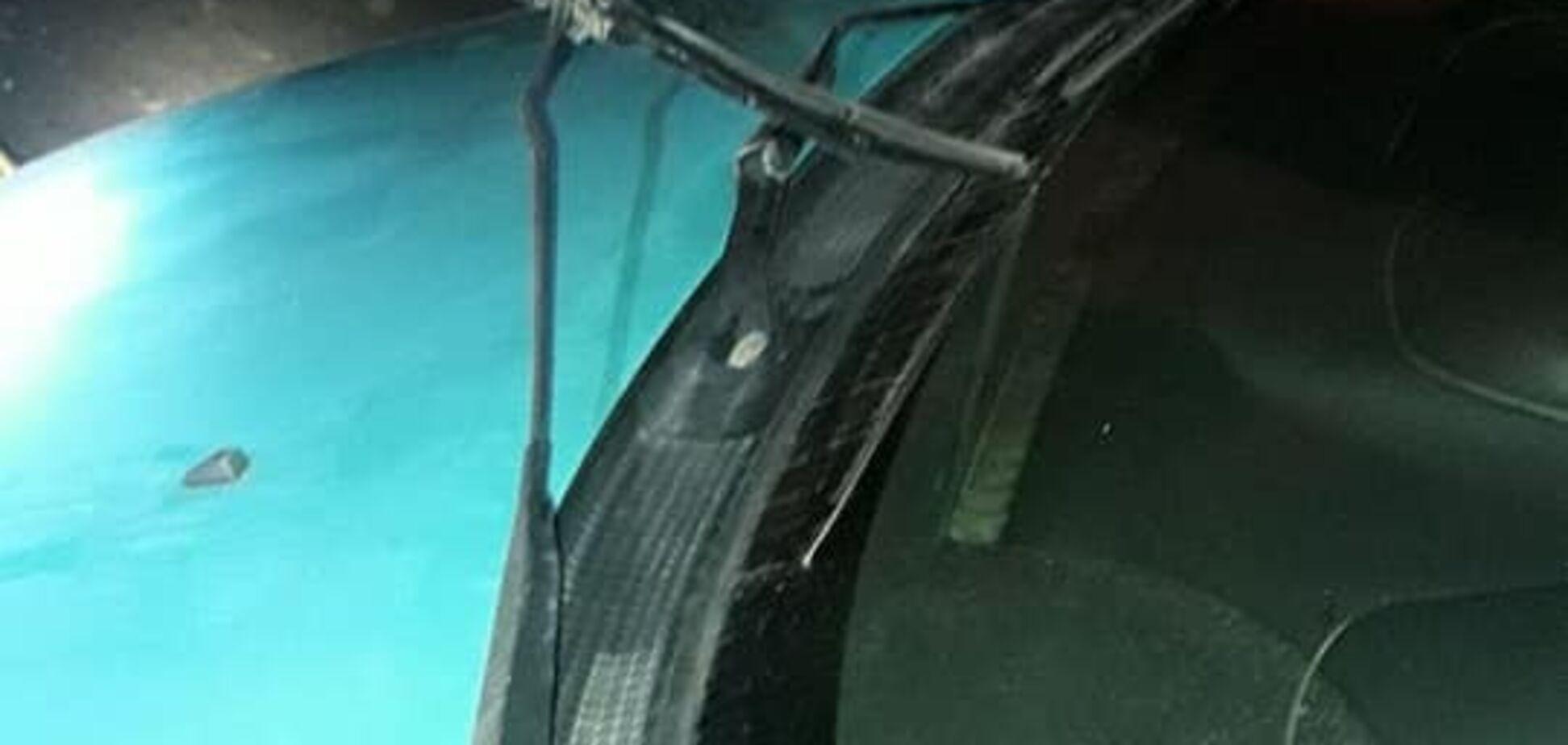 В Одесі затримали п'яного неадеквата, який трощив машини