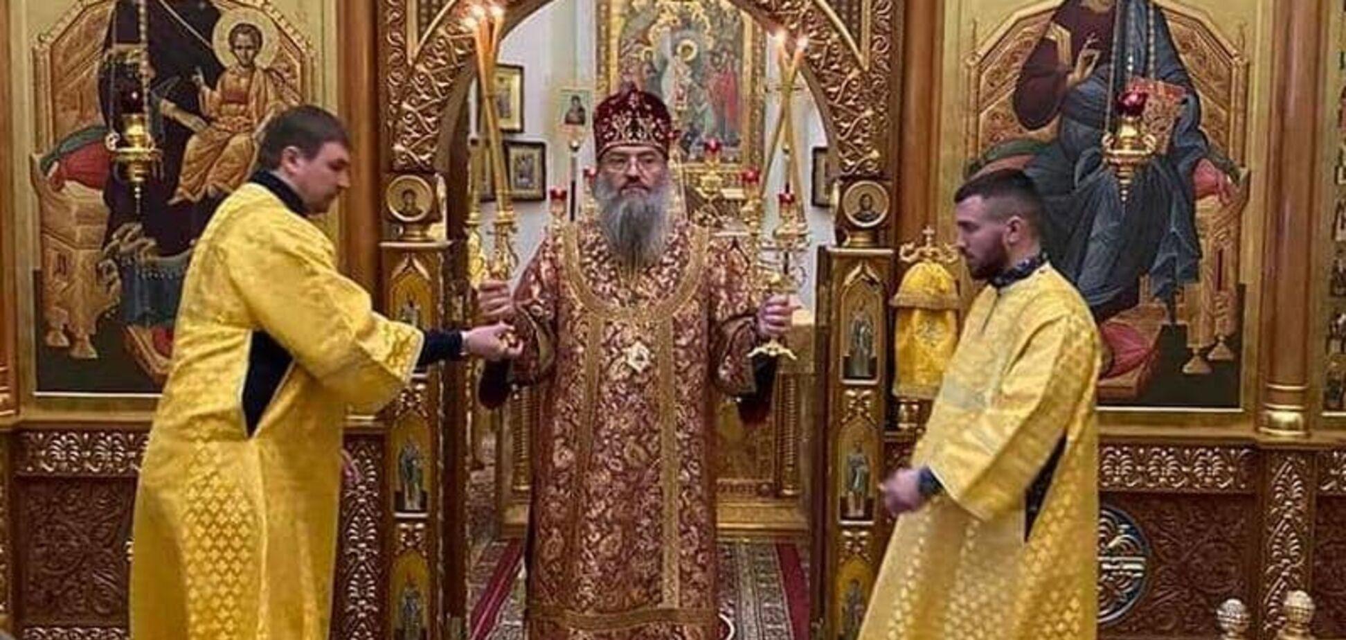 Ломаченко на Різдво засвітився у богослужінні УПЦ МП