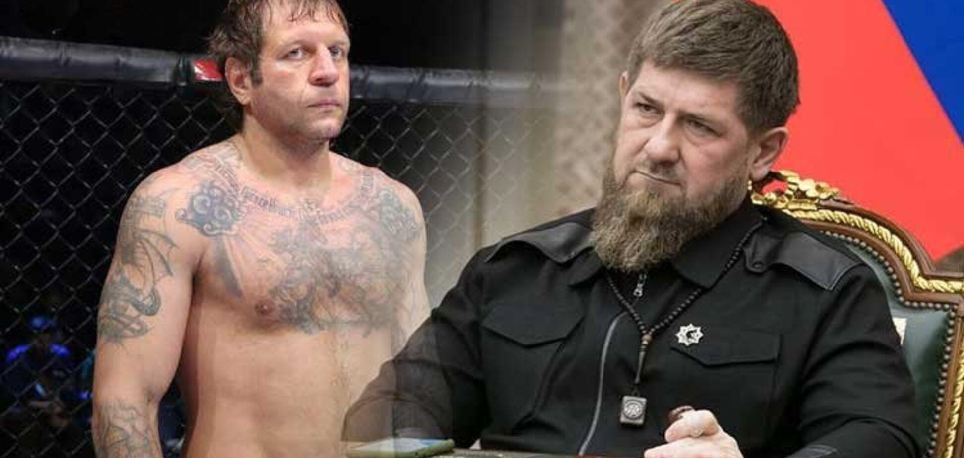 Александр Емельяненко дерзко ответил на вызов Кадырова