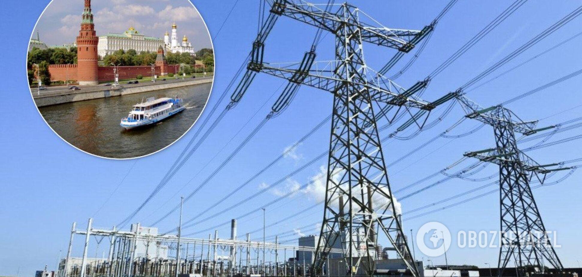 У Путіна захотіли, щоб Зеленський зняв заборону на імпорт електрики з Росії