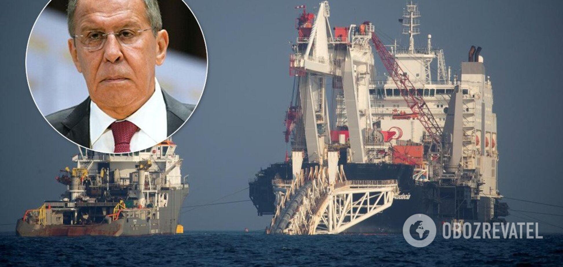 Лавров розлютився через санкції США проти 'газопроводу Путіна'