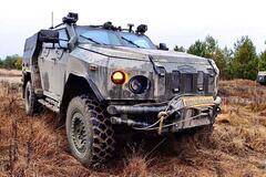 Партия броневиков 'Новатор' отправится в Сухопутные войска ВСУ