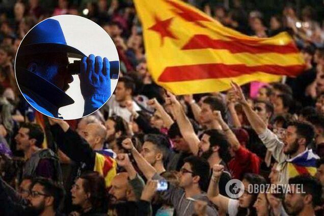 Референдум в Каталонії зв'язали з російськими Грушники