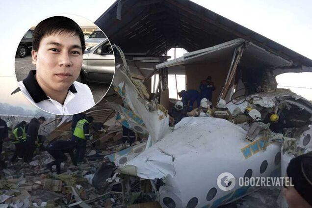 Житель Астани Асхат Утепов дивом врятувався від авіакатастрофи