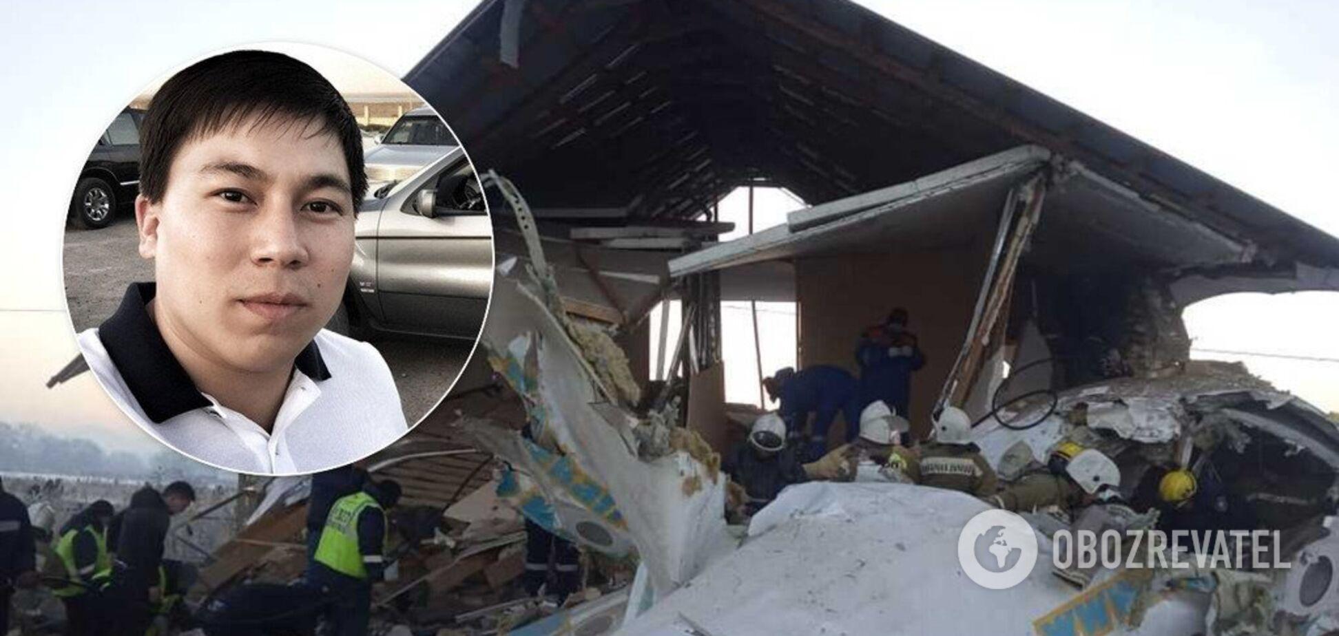 'Просто відключився!' Пасажир розповів, як дивом врятувався від авіакатастрофи в Казахстані