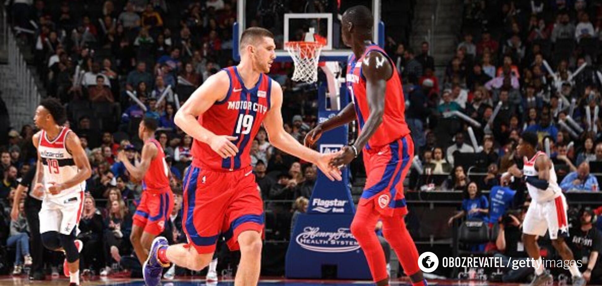Українець Михайлюк показав яскраву гру в рекордному матчі НБА