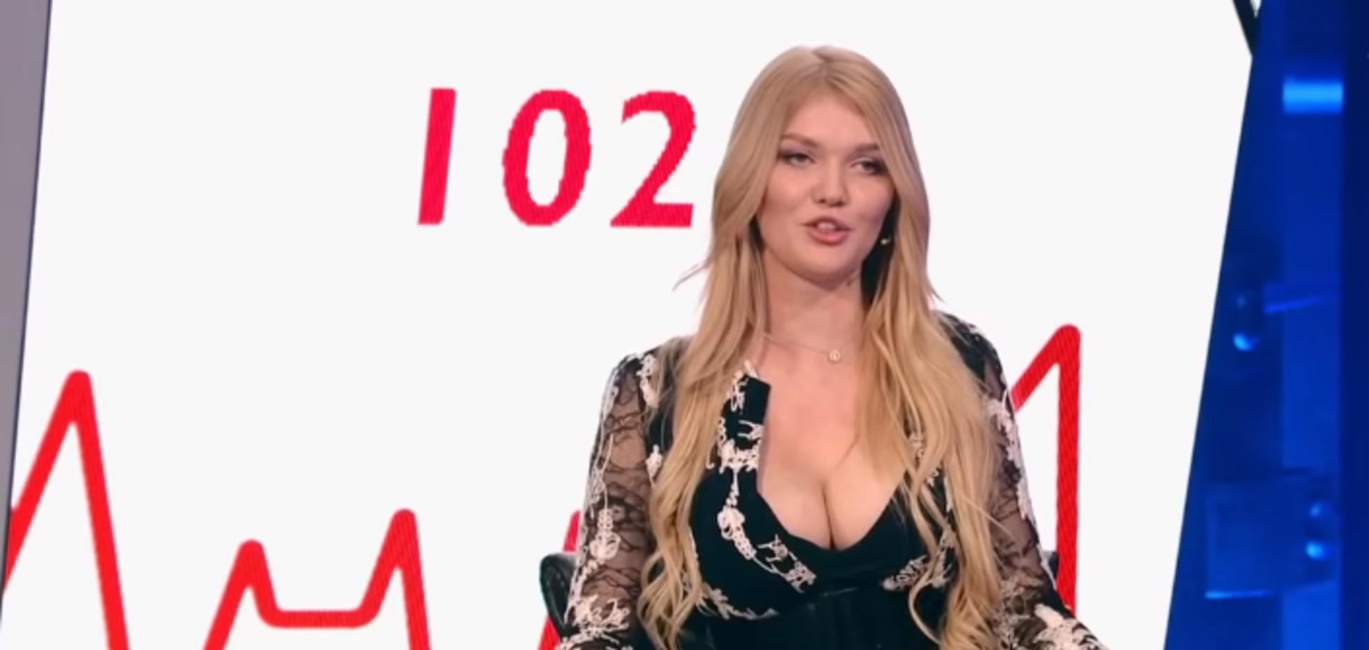 'Націоналісти влаштували репресії': скандальна 'Міс Львів' поскаржилася пропагандистам на проблеми в Україні