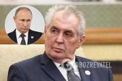 Президент Чехии собрался отомстить Путину