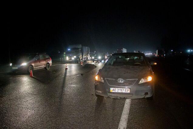 На Донецькому шосе збили людину