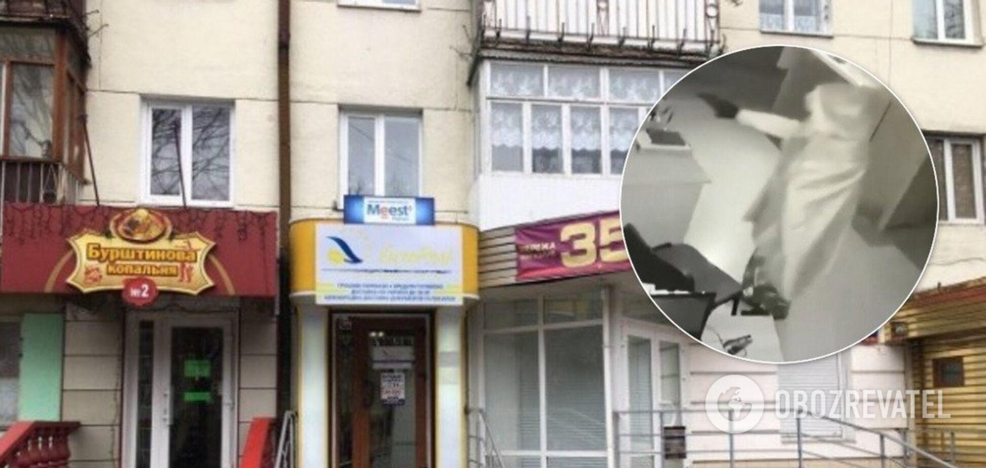 У Луцьку грабіжник прострелив голову директору фінустанови: злочин потрапив на відео