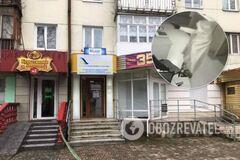 В Луцке грабитель прострелил голову директору финучреждения: преступление попало на видео