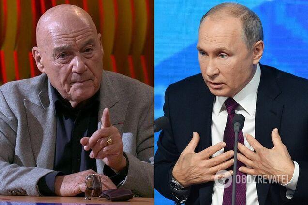 Познер розповів про оточення Путіна