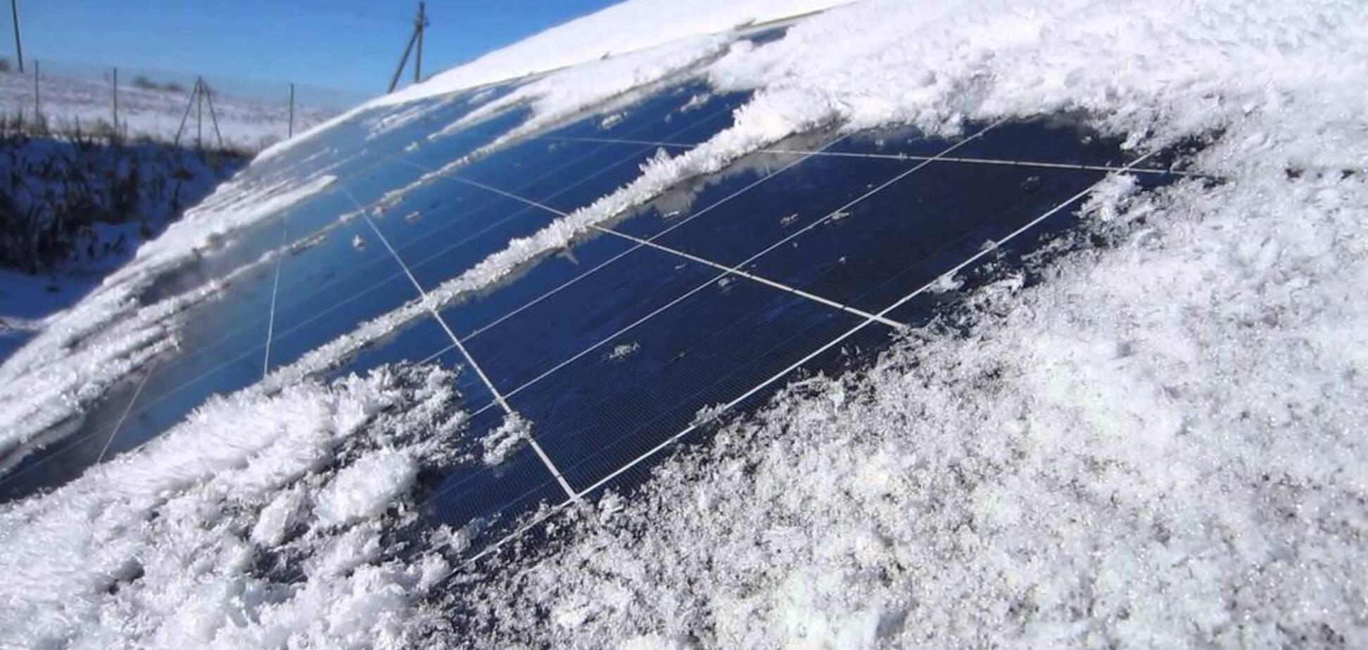 Як очистити сонячні панелі від снігу: з'явилася покрокова інструкція