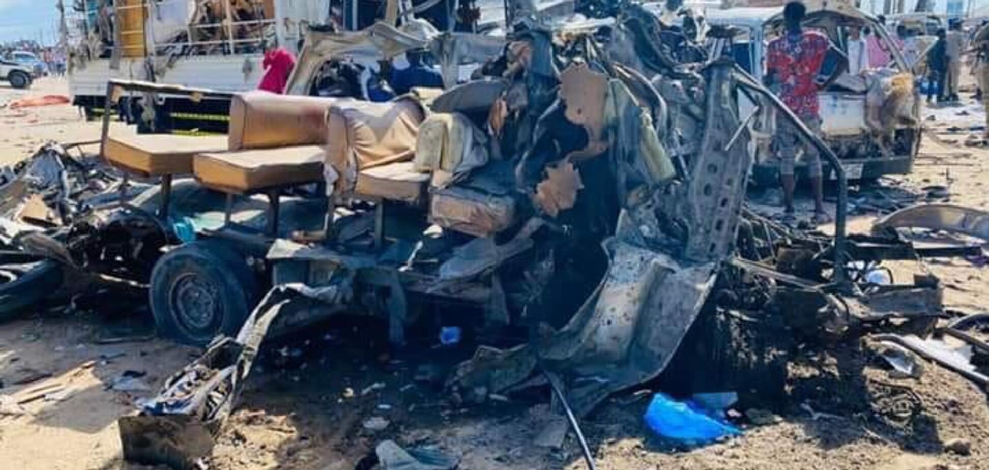 У Сомалі трапився кривавий теракт: загинуло понад 90 осіб