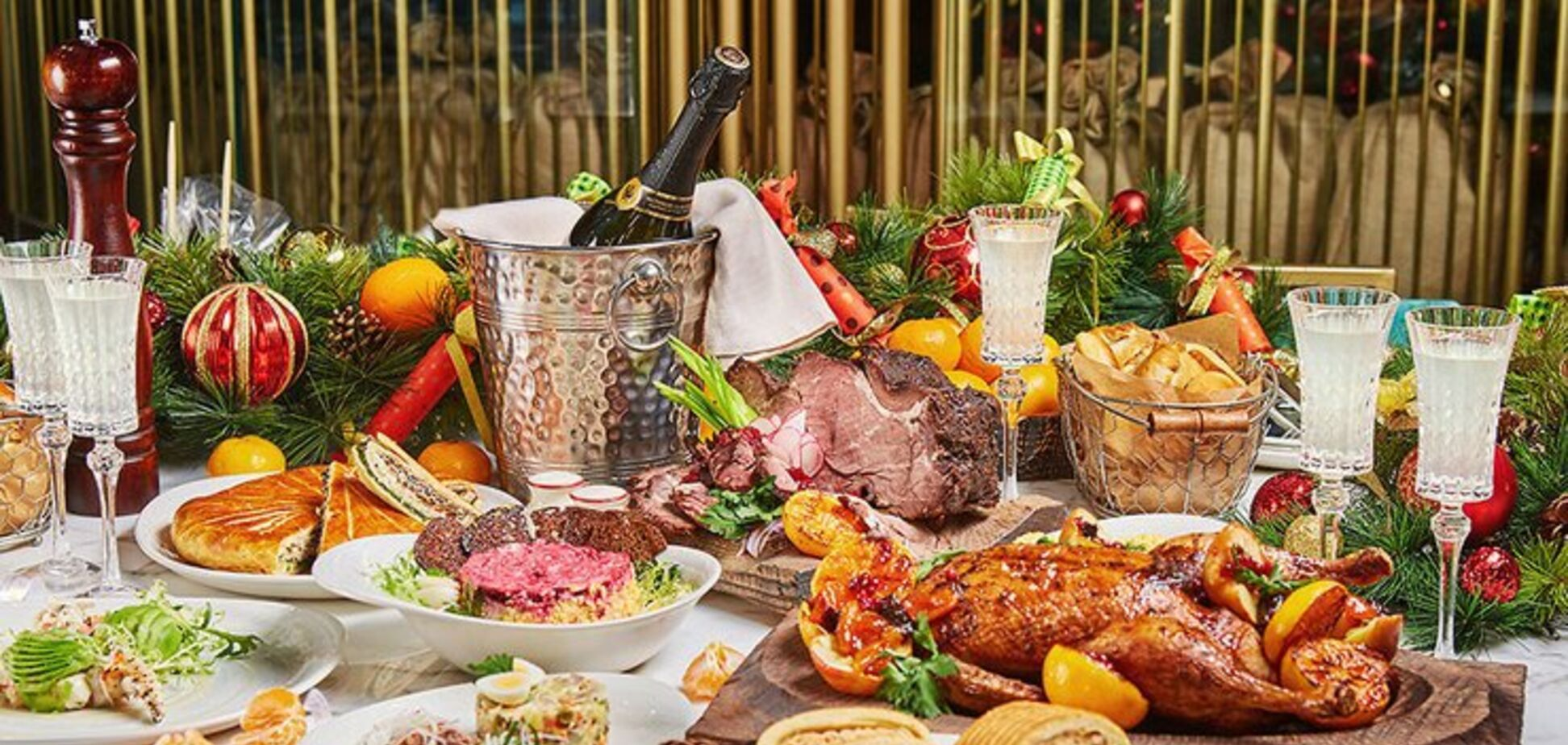 Новорічне меню 2020: рецепти смачних салатів і м'яса