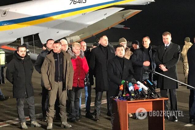 """Володимир Зеленський в """"Борисполі"""""""