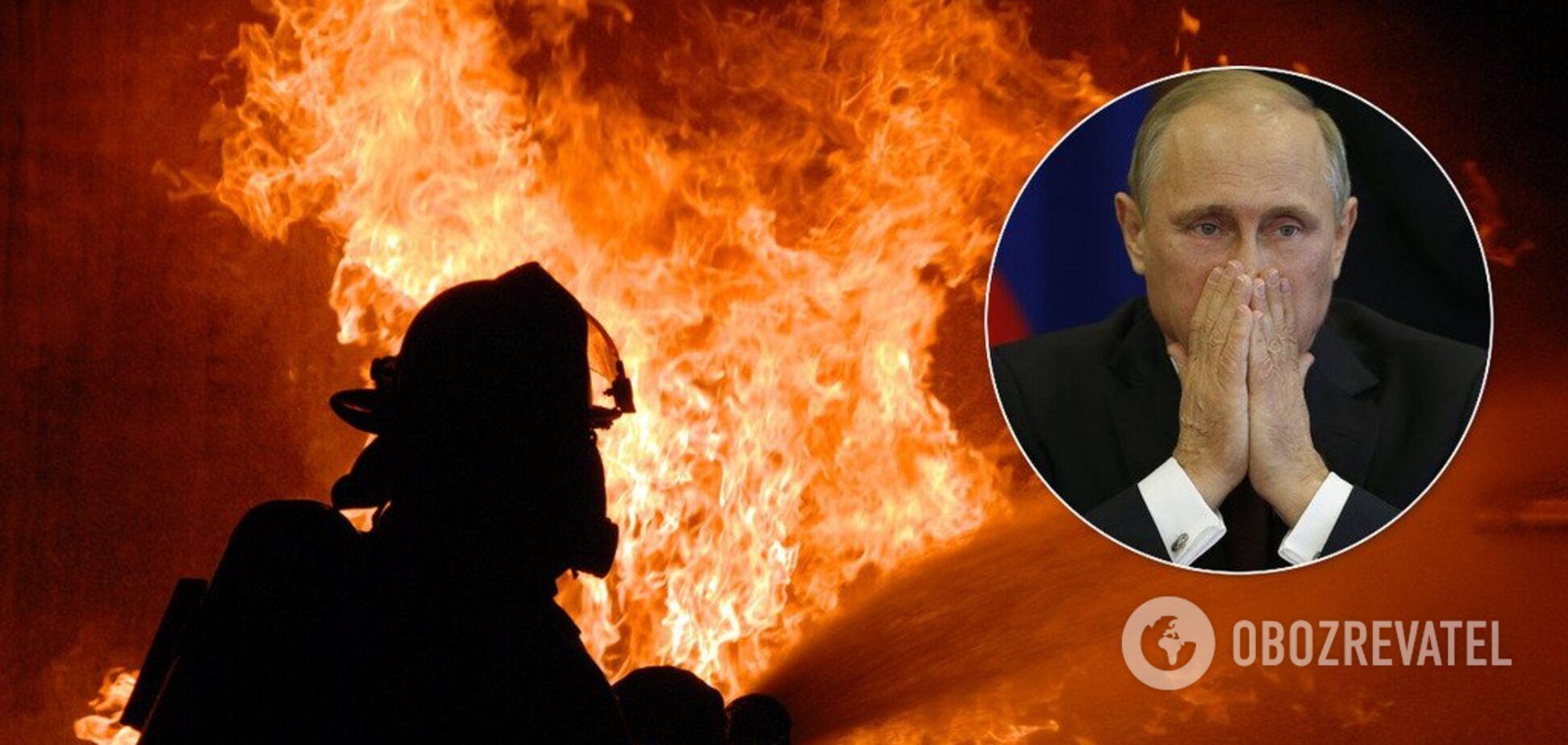 Путин с дочерьми чуть не сгорели в пожаре: всплыли эксклюзивные подробности