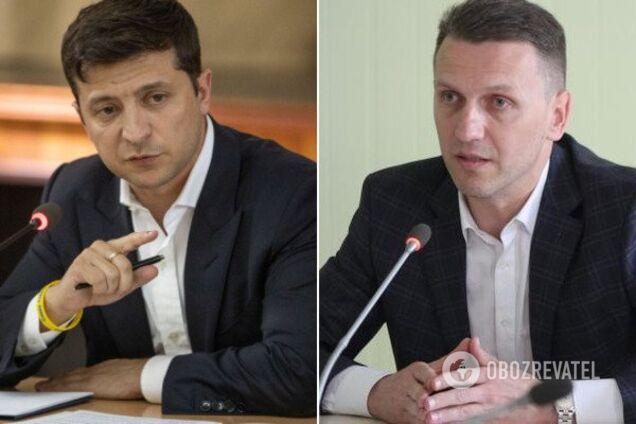 Володимир Зеленський і Роман Труба