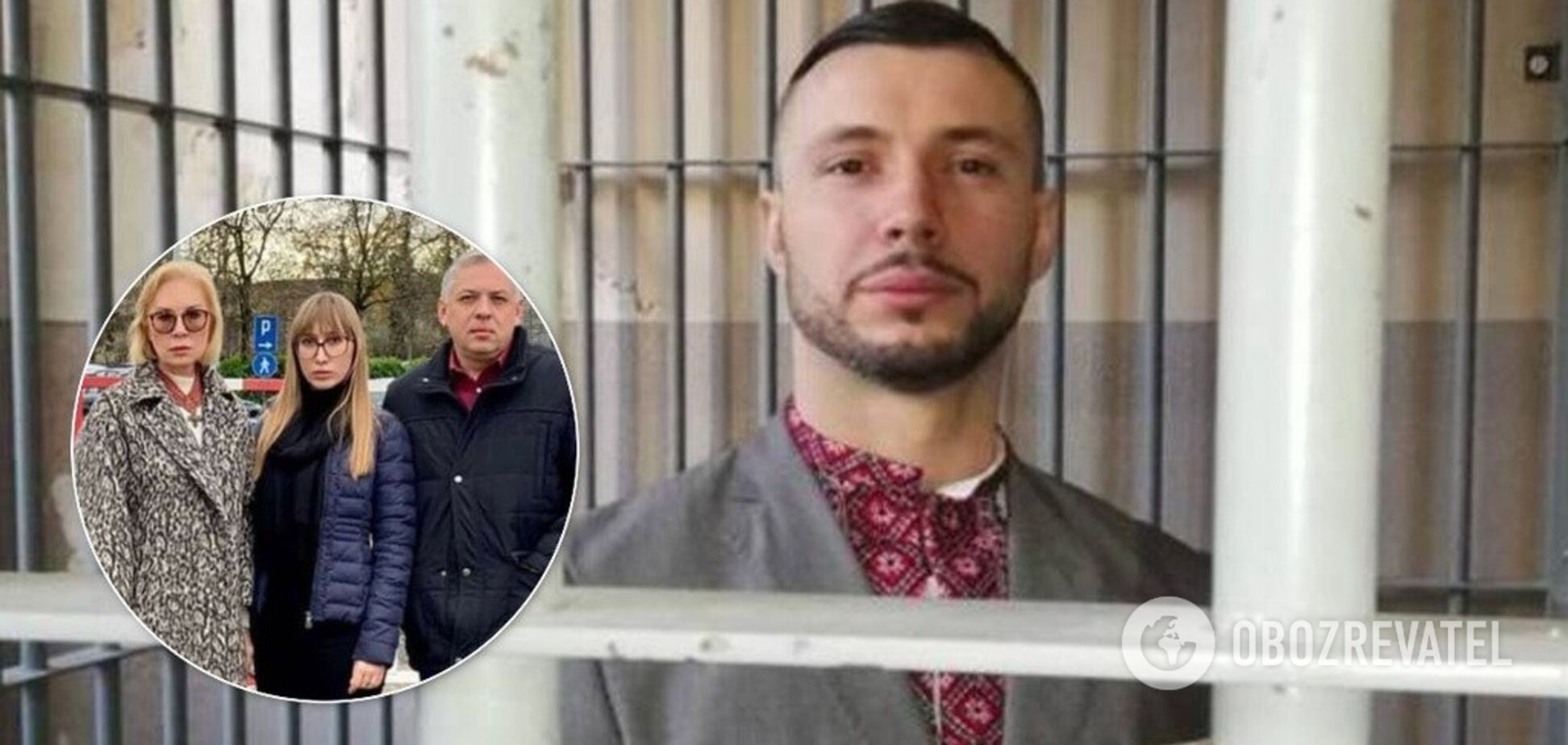 Віталія Марківа відвідали в італійській в'язниці. Фото