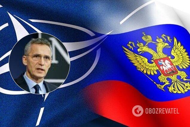 """Йенс Столтенберг заявив про відповідь НАТО на """"агресію Росії"""""""