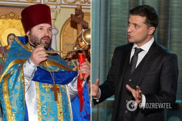 Александр Дедюхин и Владимир Зеленский