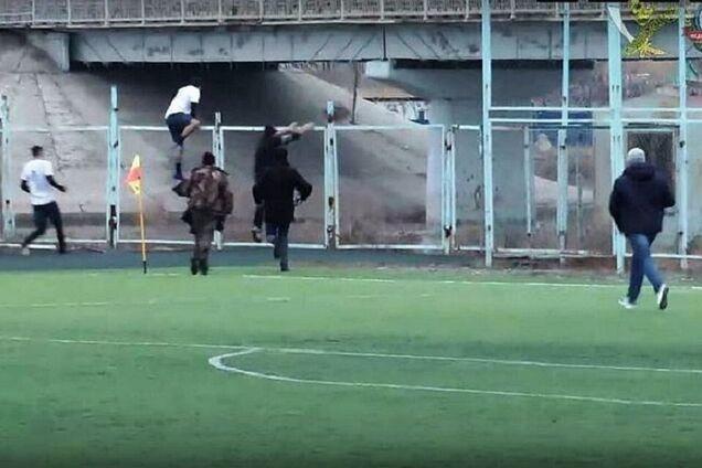 Матч в России был прерван из-за криков о помощи