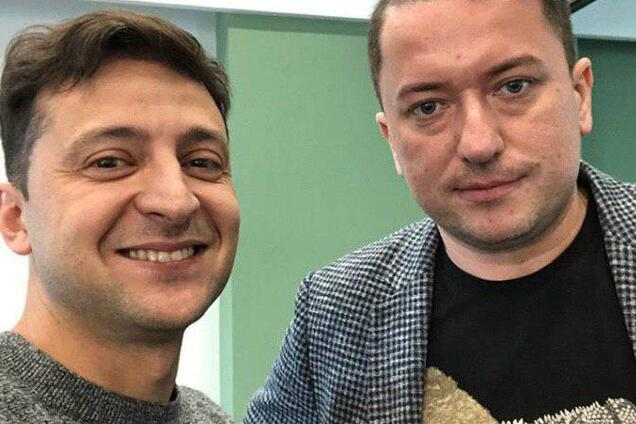 Зеленский и Соломчук