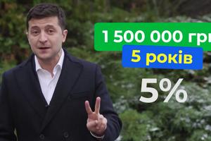 1,5 млн на 5 лет: Зеленский пообещал дешевые кредиты для бизнеса